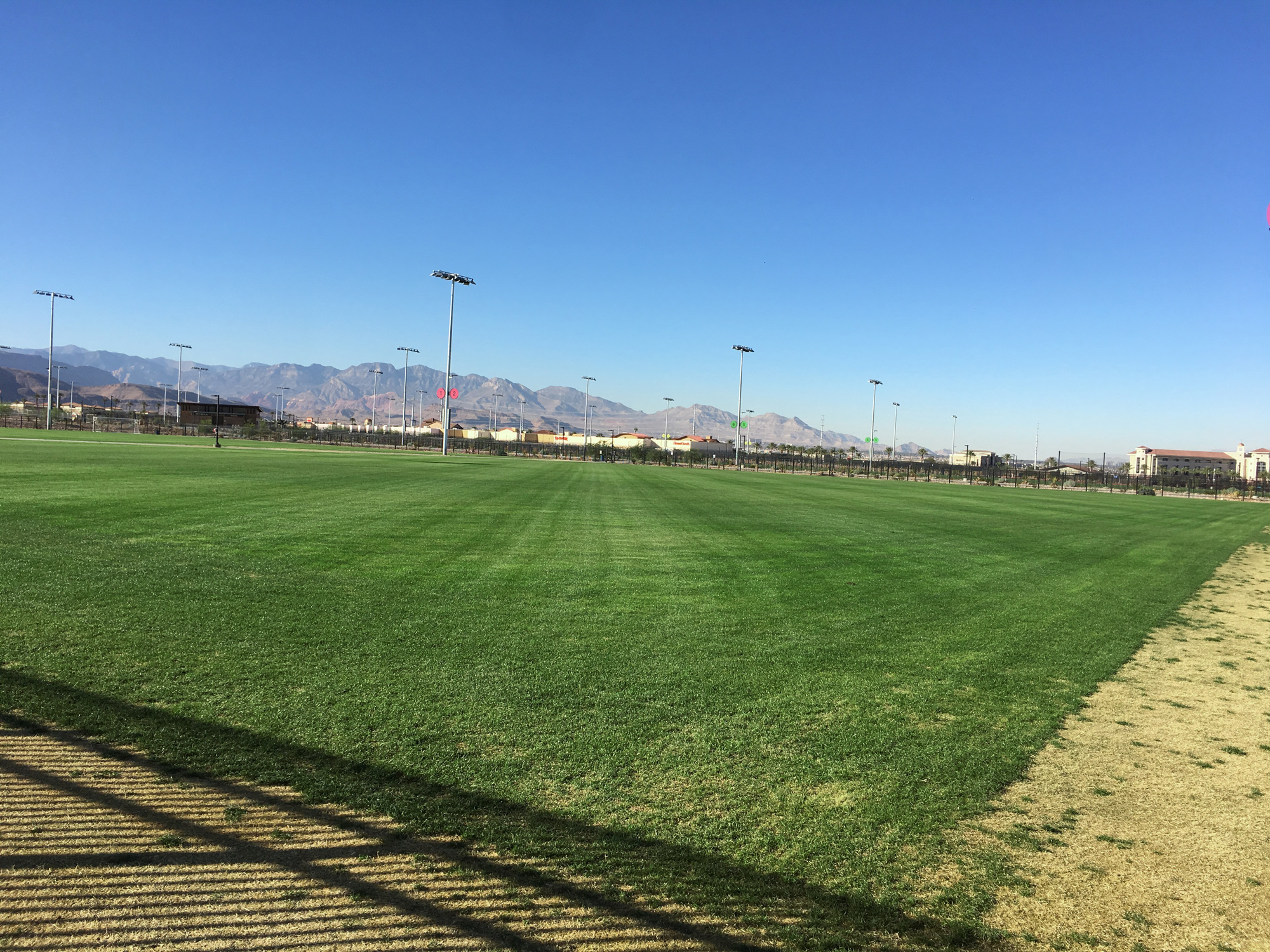 Gro-Power Used for 16-Field Soccer Complex